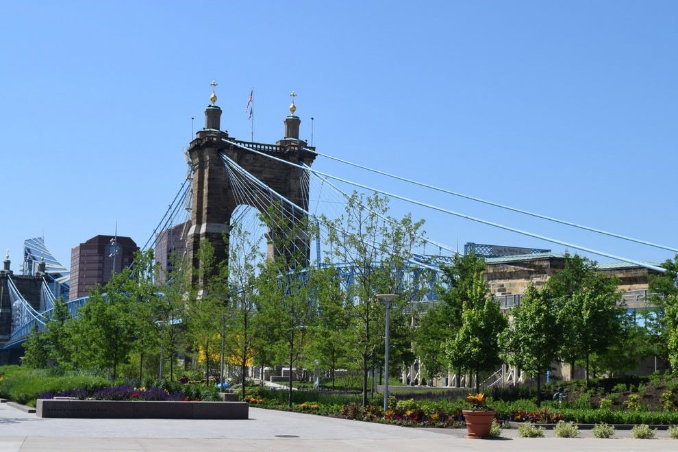 Smale Riverfront Park in Cincinnati