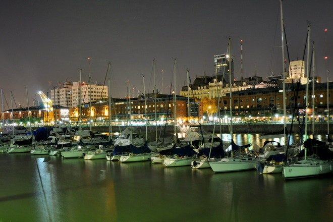 Waterfront Dining in Buenos Aires