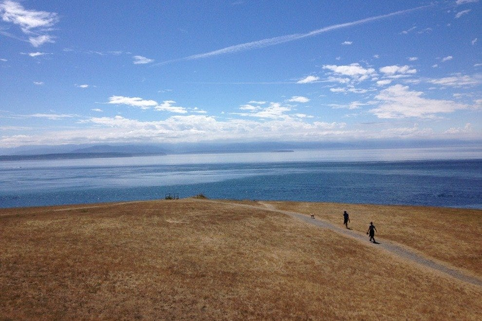 Fort Ebey State Park proves one of Whidbey Island's many gems
