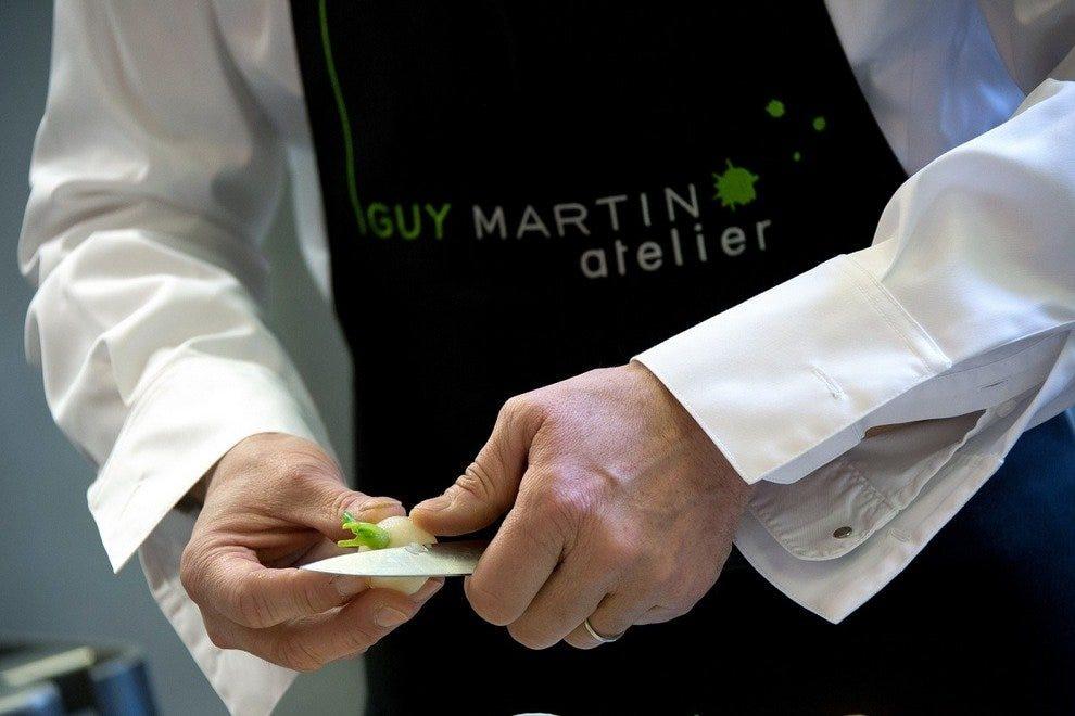 Atelier guy martin burgers paris restaurants review for Atelier guy martin cours cuisine