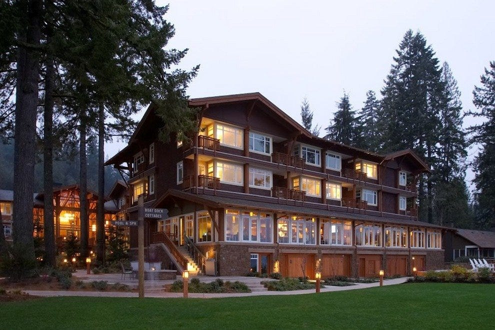 Alderbrook Resort & Spa offers an alluring getaway on the shores of the Hood Canal