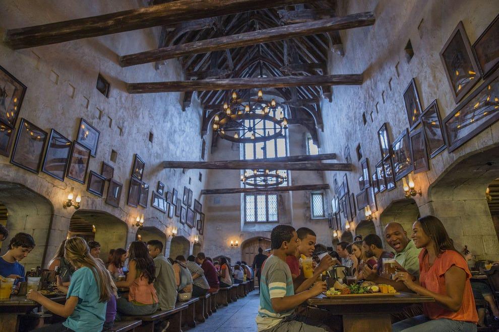 Harry Potter Halloween Scene