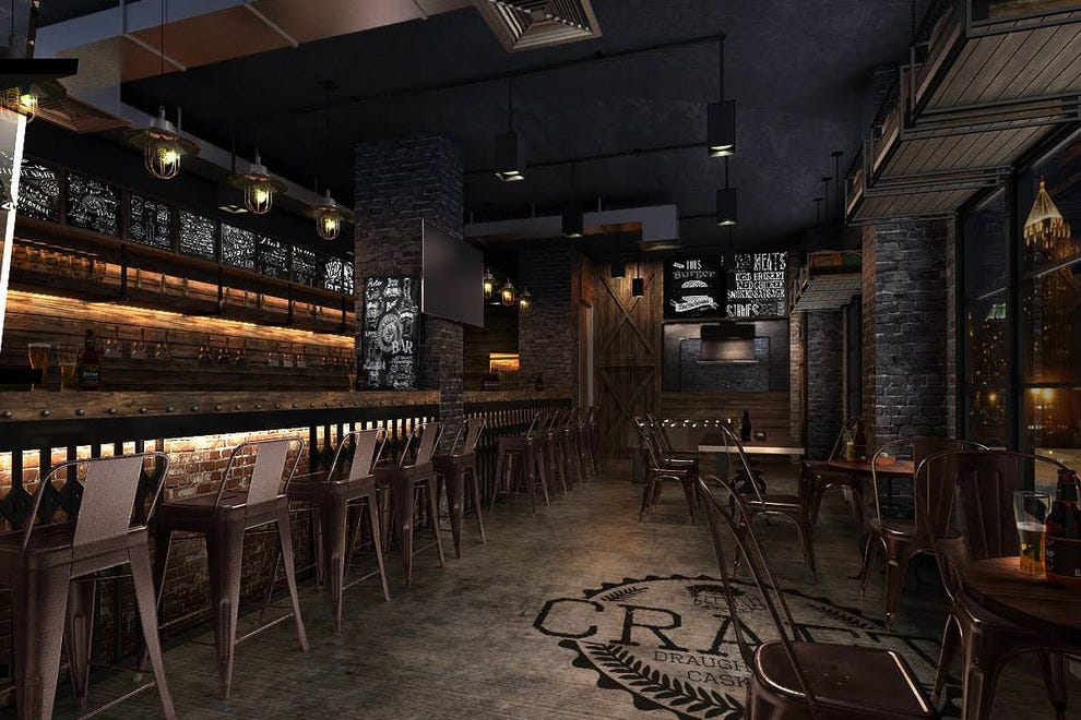 Craft beer bar one of the largest taphouses in southeast asia for Craft beer bars new york
