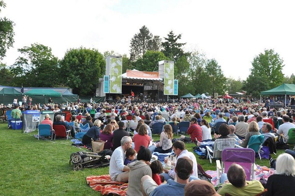 Nothing beats an al fresco concert like ZooTunes on a stunning summer evening