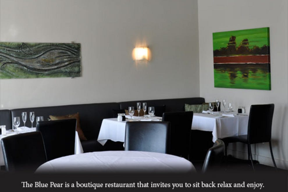 Blue pear edmonton restaurants review 10best experts for Best private dining rooms edmonton