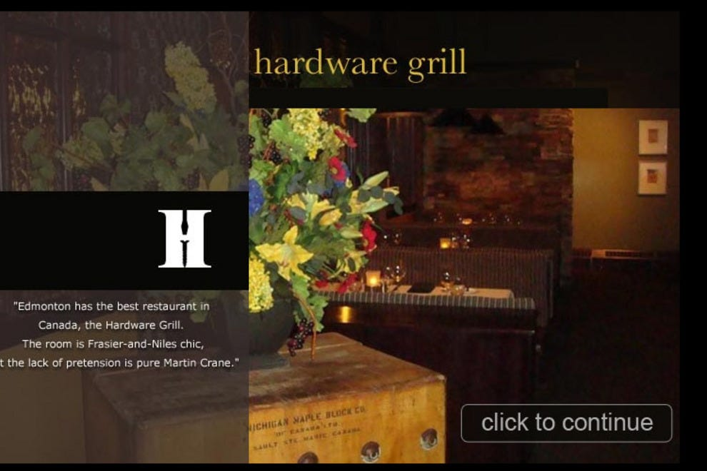 Hardware grill edmonton restaurants review 10best for Best private dining rooms edmonton