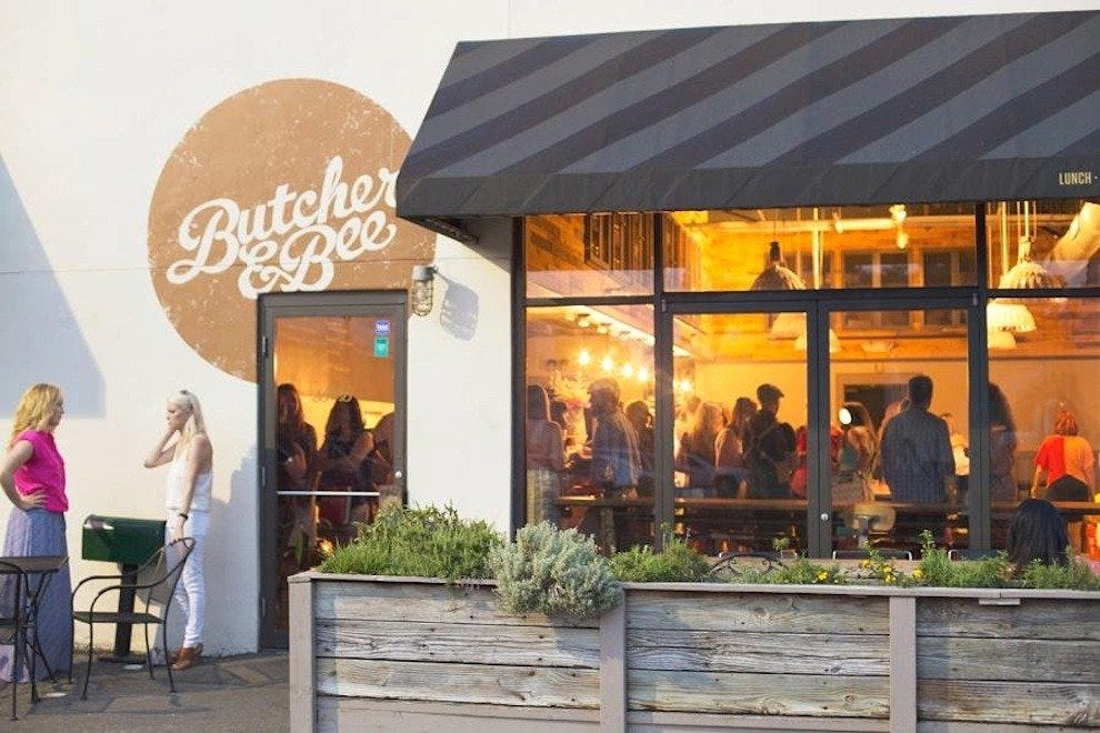 Image result for butcher and bee charleston patio