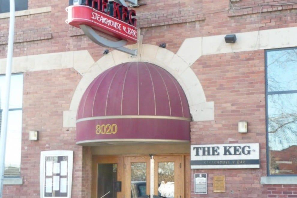 the keg steakhouse bar edmonton restaurants review. Black Bedroom Furniture Sets. Home Design Ideas