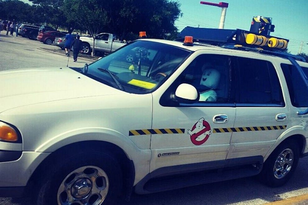 The Space Coast Ghostbusters attend the nerd fest