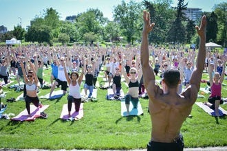 Denver's Yoga Rocks the Park Offers Free Summer Classes