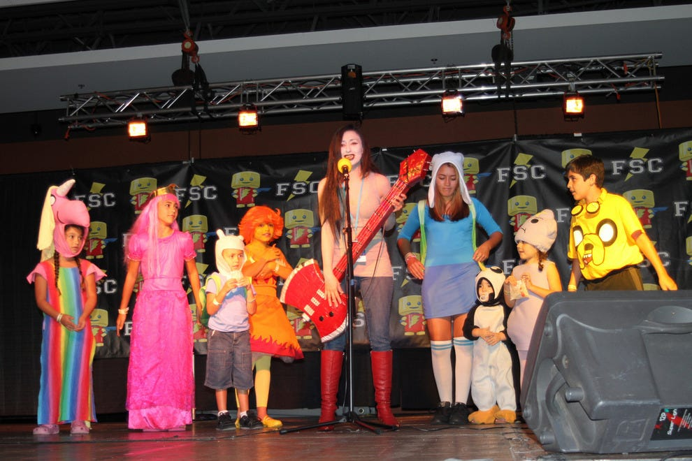 Costume contest winners at the Florida Supercon