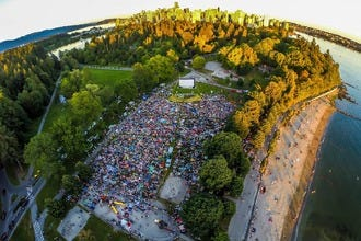 Evo Car Share Summer Cinema: Free Movies in Stanley Park