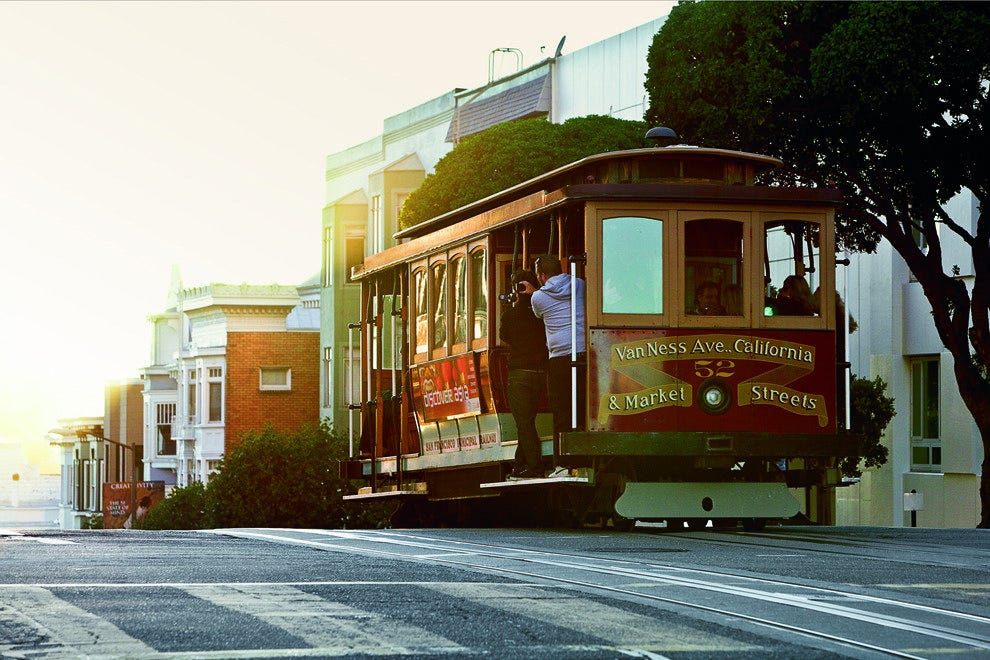 Ride the Cable Car in San Francisco
