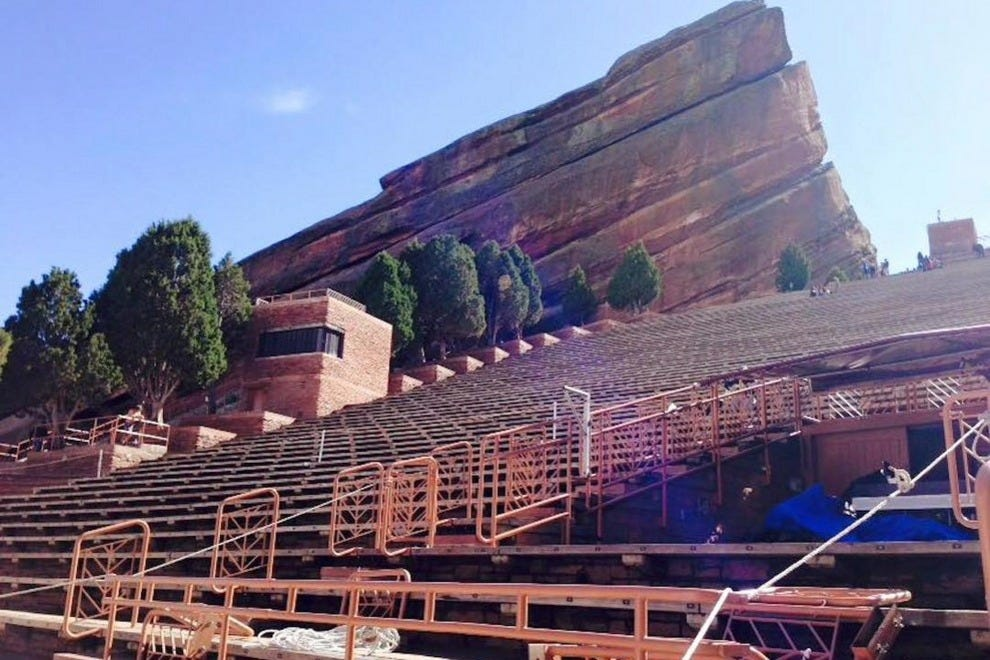 Red Rocks Amphitheater is an outdoor wonder