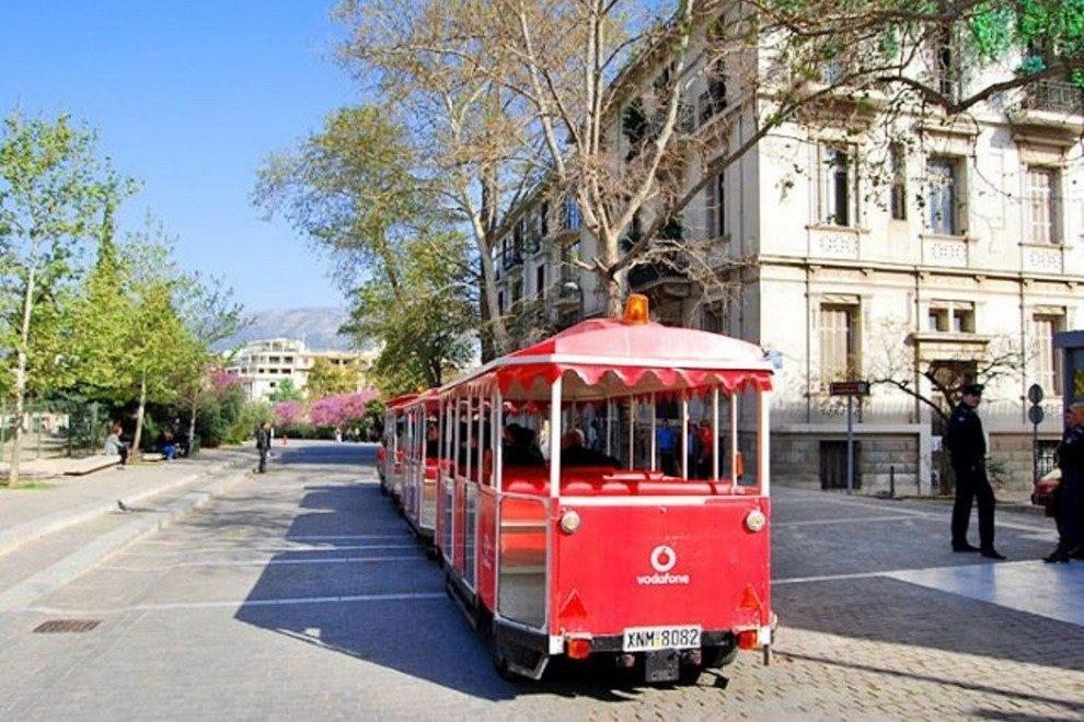 Афины Счастливый поезд  Семейное развлечение в Афинах p phoca thumb l p29 54 990x660