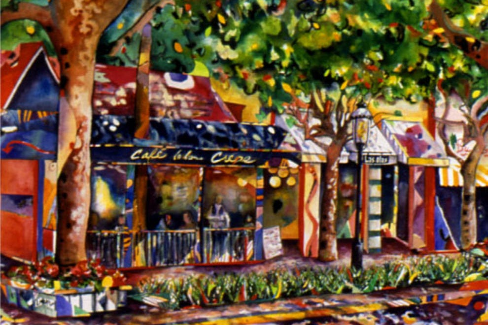 Cafe La Bonne Crepe Las Olas