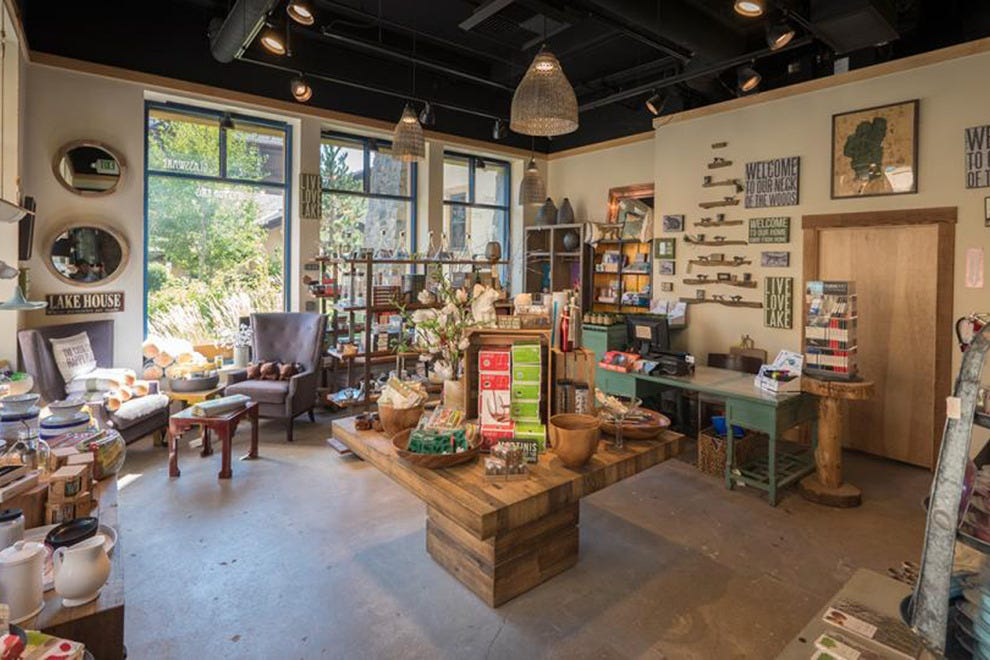 Spruced Gift & Home sells unique items that will remind you of Lake Tahoe