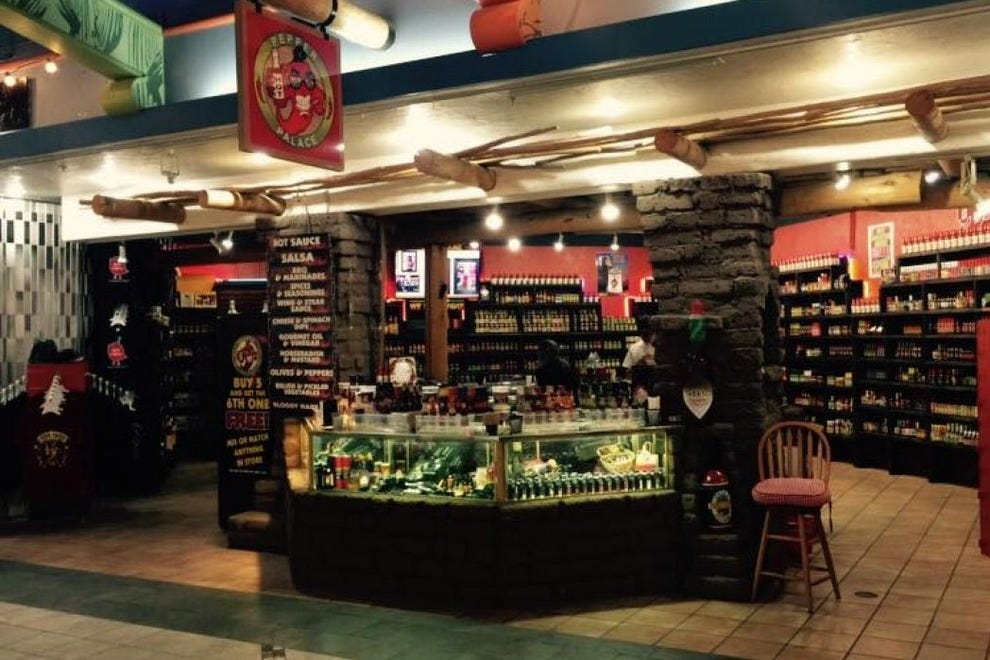 Pepper Palace is a specialty grocer with hundreds of hard-to-find hot sauces