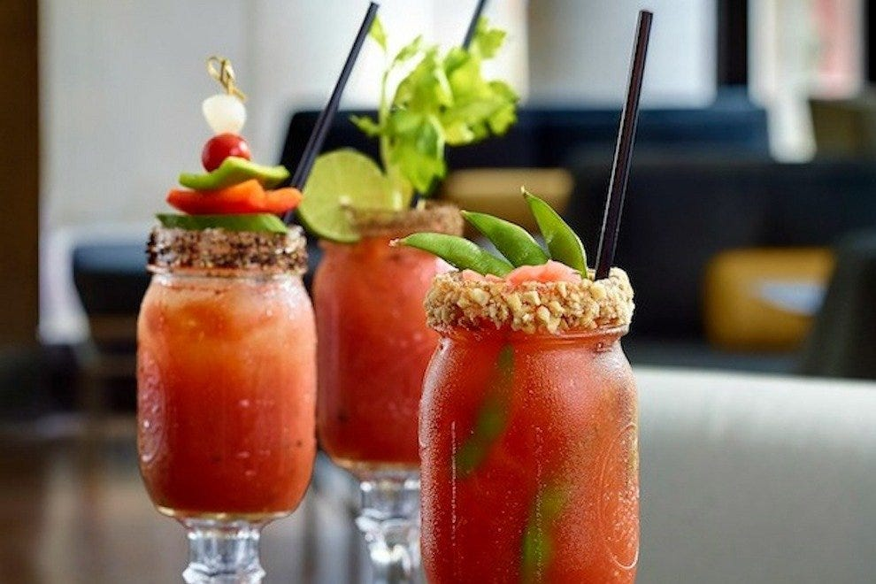 The classic Canadian Caesar...with a twist