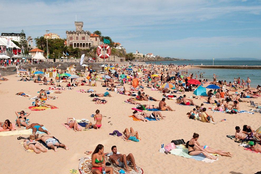 Portugal Beach Towns Near Lisbon