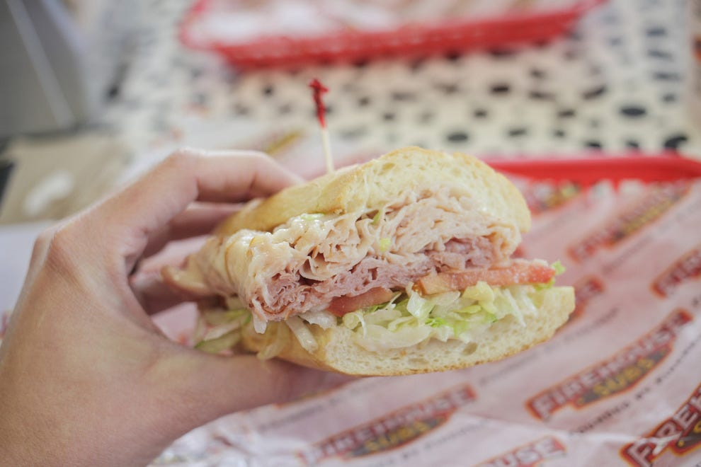 Firehouse Subs' signature hearty portions ensure you won't leave hungry