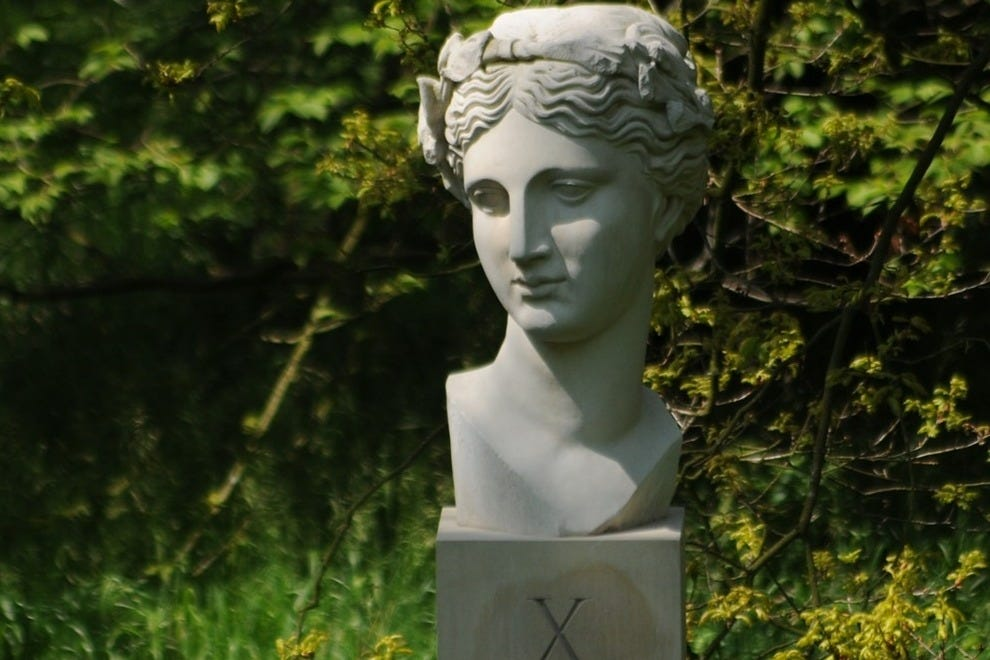 """Xth Muse"" by Ian Hamilton Findlay"
