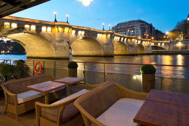 Les Jardins Du Pont Neuf Paris Restaurants Review 10best