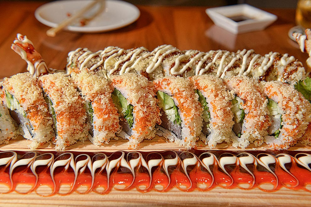 Maki fusion deluxe: BKK Maki, all the way from Chicago