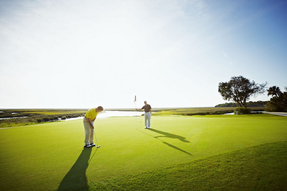 Play on one of the Omni's three championship golf courses