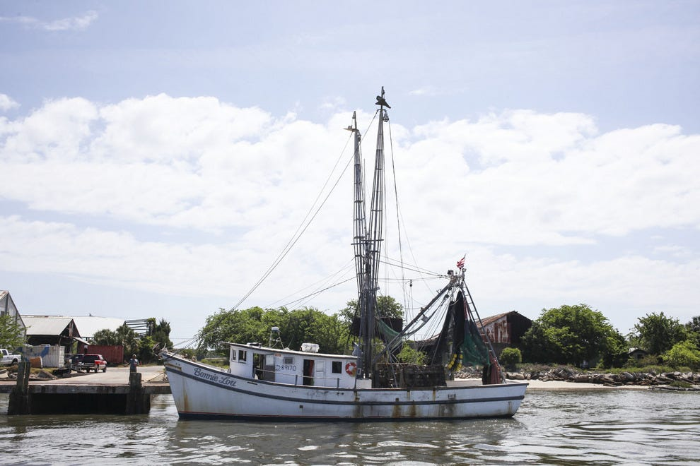 Learn about ups and downs of Fernandina's shrimping empire when you cruise with Amelia River Cruises