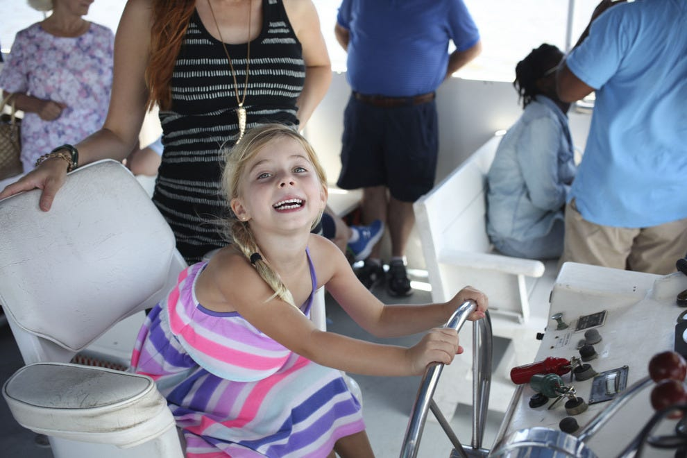 Amelia River Cruises are popular with all ages