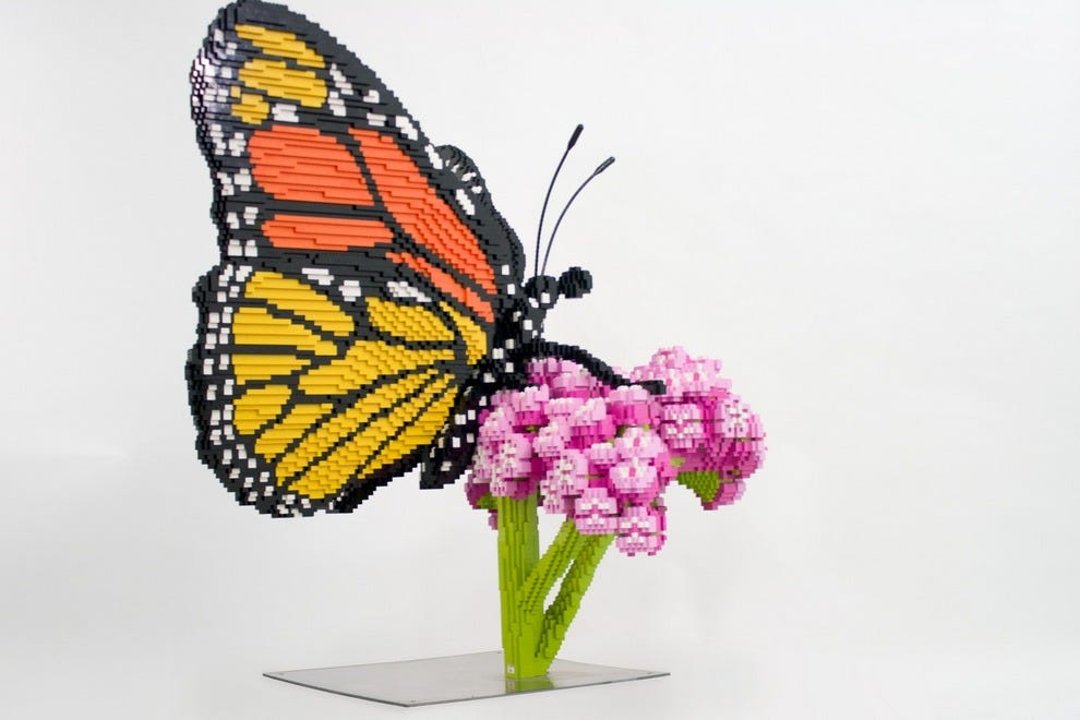 Tucson Botanical Gardens will be showcasing nature-inspired LEGO sculptures through early 2016