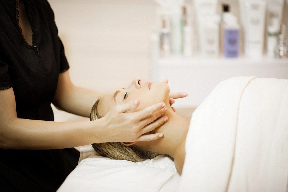 White Caviar Illuminating Facial at Hotel Bel Air