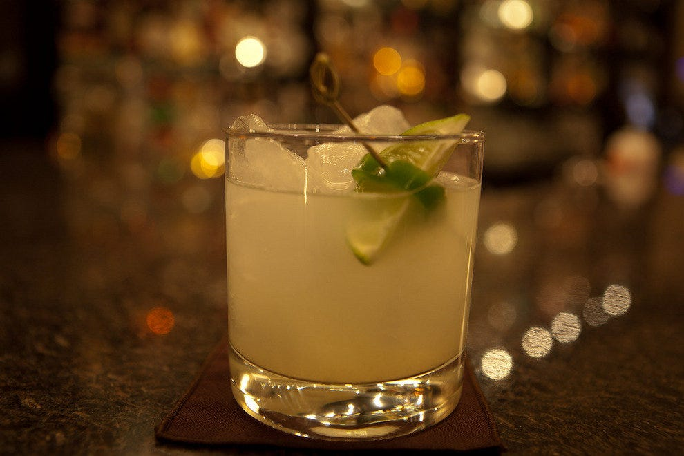 "Don't let the word ""muddle"" fool you. This is one classy drink."