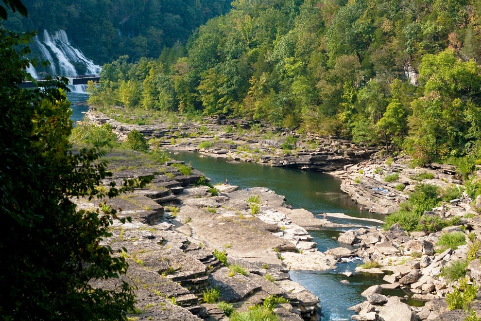 Caney Fork Gorge is a popular place for fun on the water