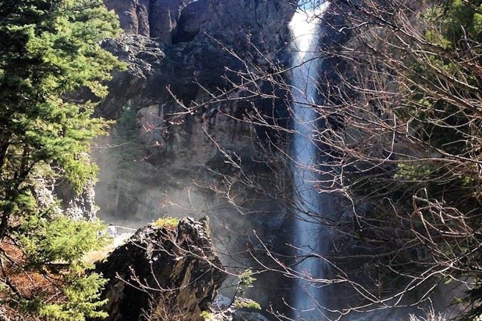 The 100-foot Treasure Falls