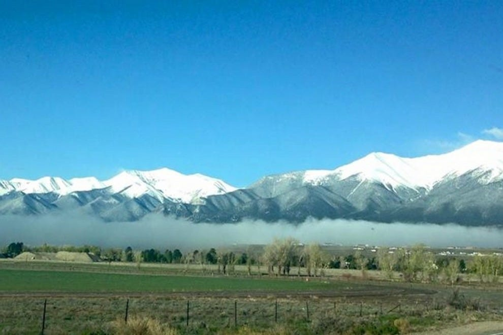 The Buena Vista area in the clouds