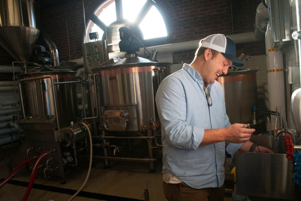 The Depot both brews and distills their own beers and spirits