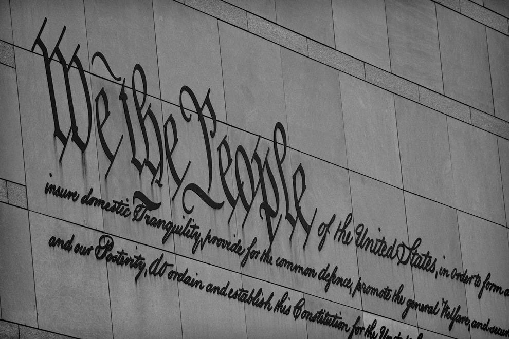 The many freedoms guaranteed by the Constitution are a fascinating lesson in history