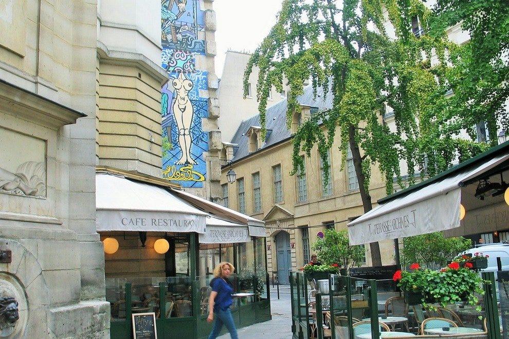 La Terrasse Des Archives  Paris Restaurants Review