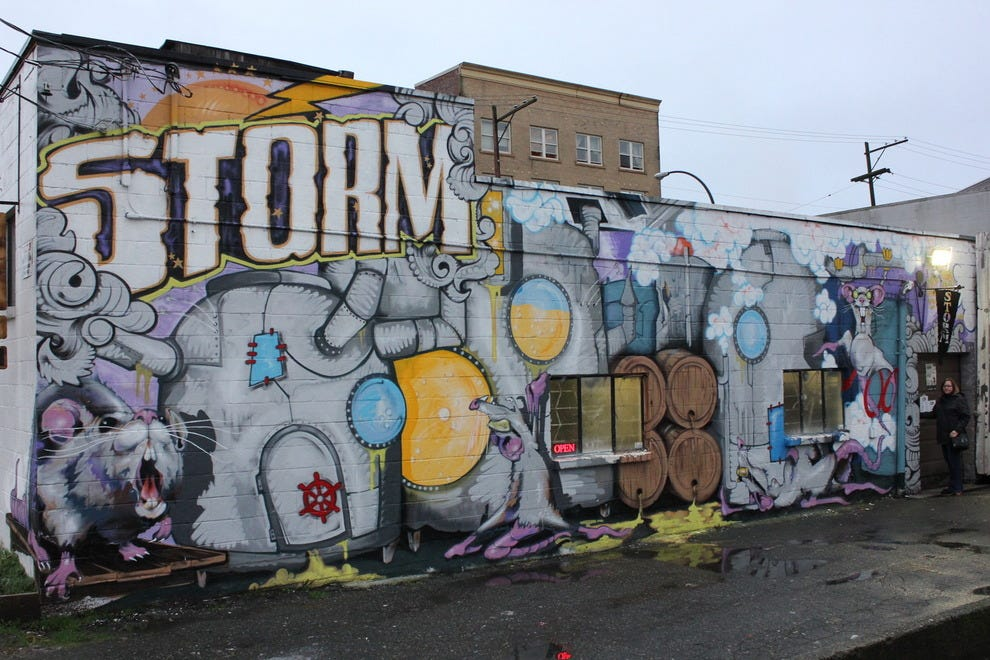 Hardcore, gritty, always good - Storm Brewing, Vancouver, BC