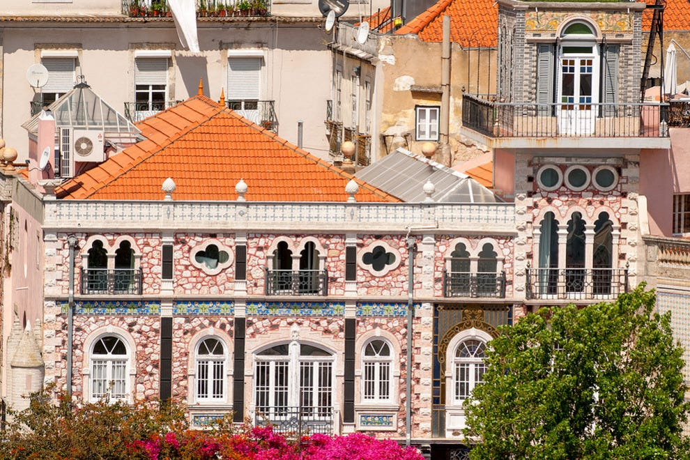 The hotel is located in Lisbon's historic Alfama district