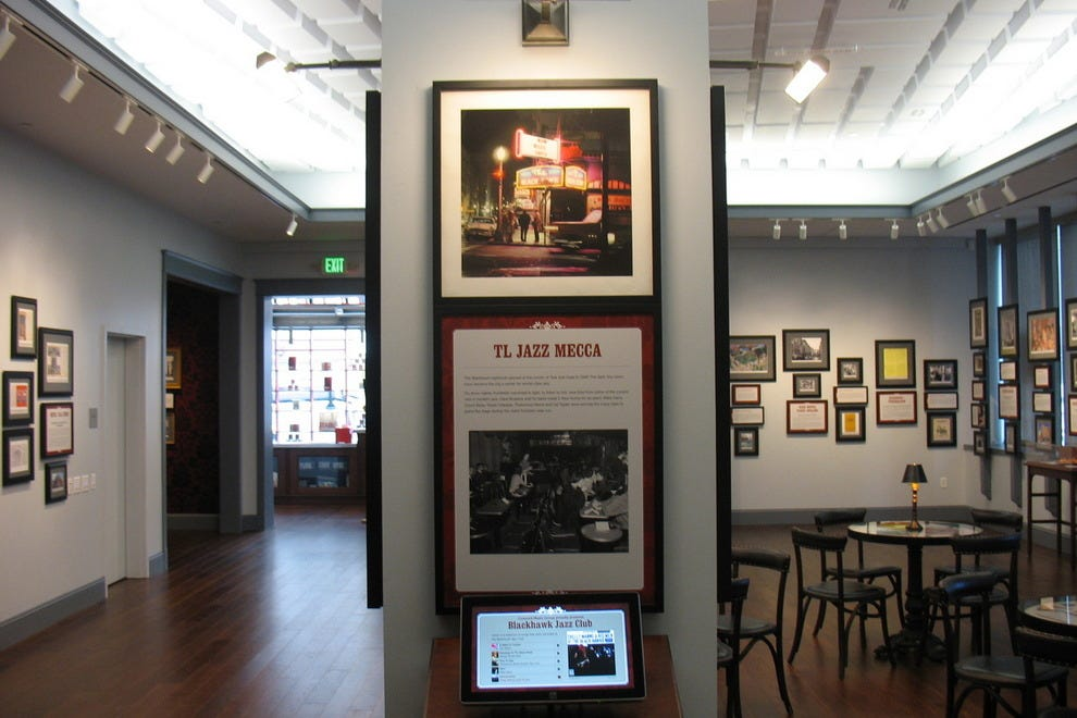 Interior of Tenderloin Museum