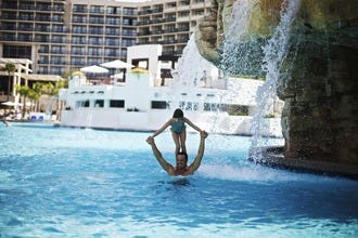 Falls Pool Oasis Sparkles at Orlando World Center Marriott
