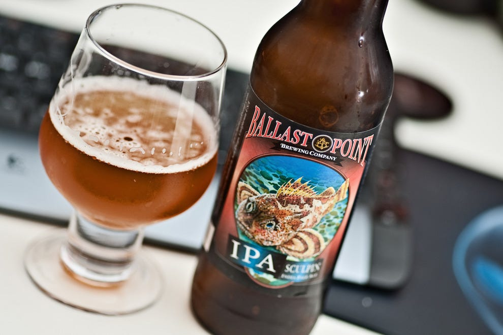 Ballast Point beer in San Diego