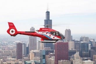 See Chicago's Famous Landmarks by Helicopter