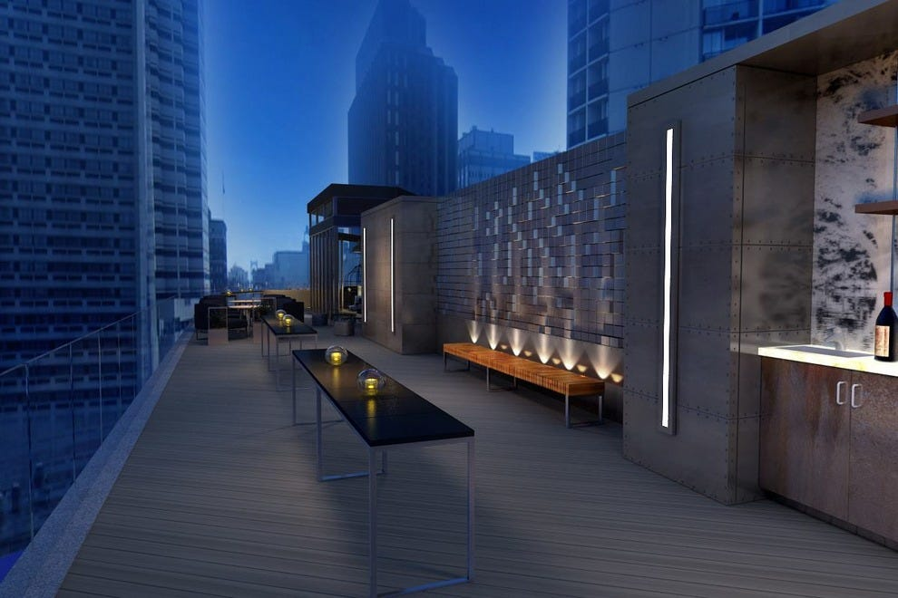 Be sure to treat yourself to the new rooftop lounge, which will open in the spring of 2016 atop The Logan Hotel