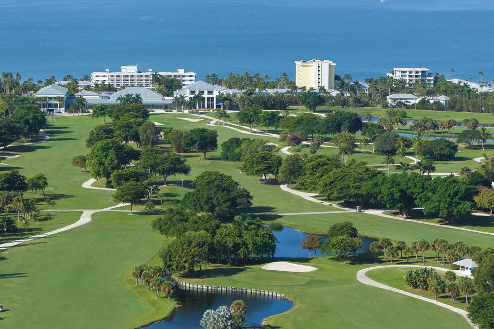 Golf and gulf at Naples Beach Hotel