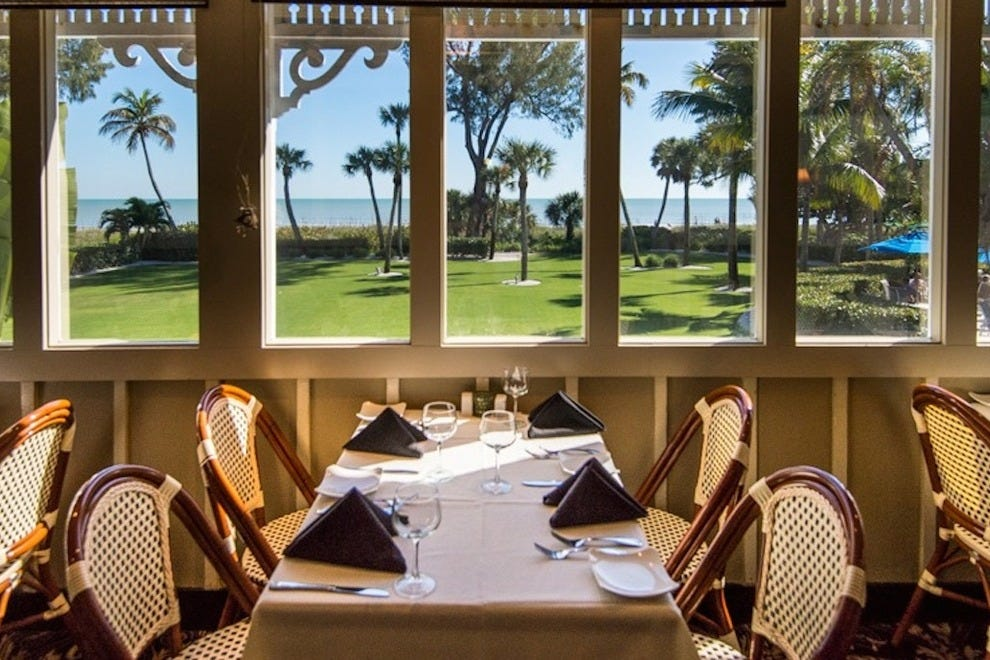 You can't beat the views while dining at Thistle Lodge