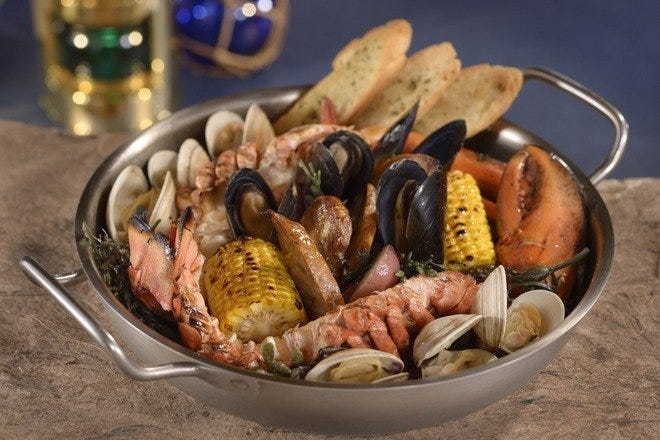 Restaurant Slideshow Walt Disney World S Best Seafood
